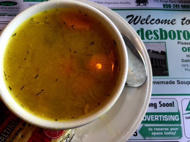 Swedesboro diner soup