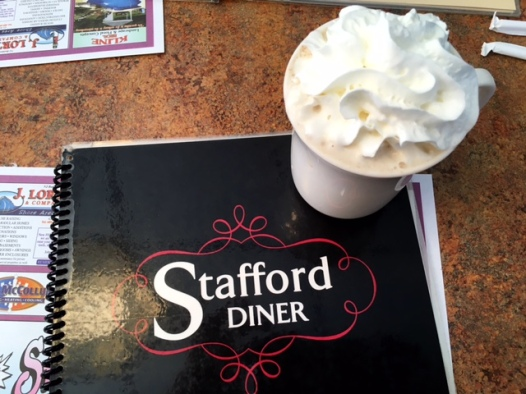 Stafford diner coffee