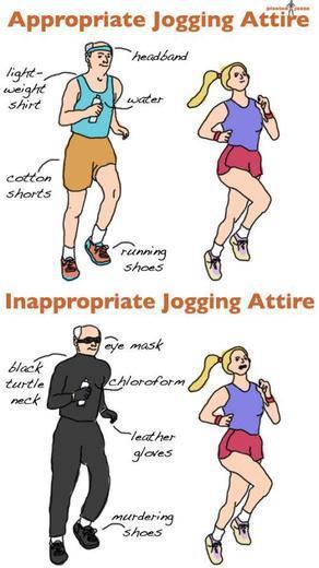 jogging attire