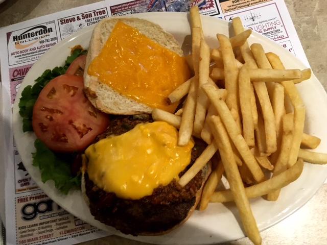 Flemington-Raritan Diner Burger