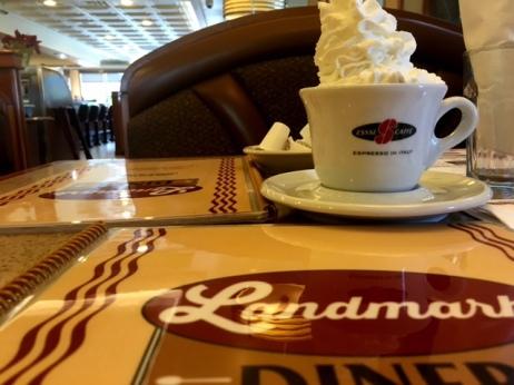 Landmark Diner coffee