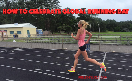 how to celebrate global running day