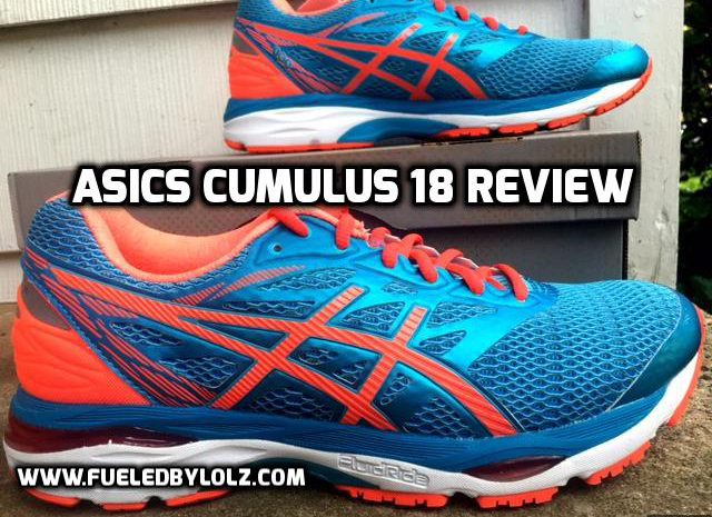 asics gel cumulus 18 review