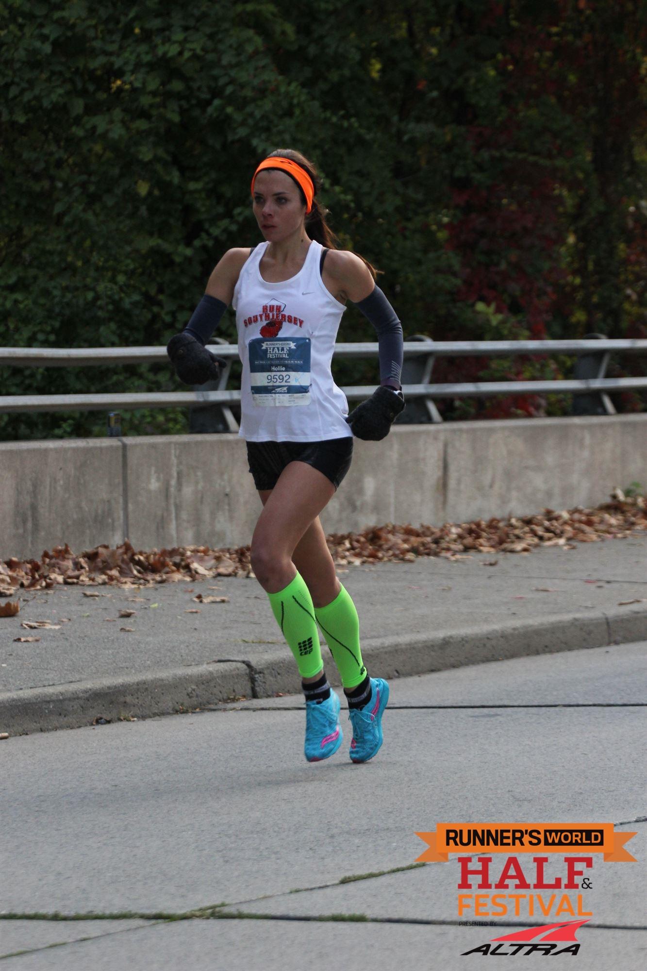 nike free run distance runners world half marathon