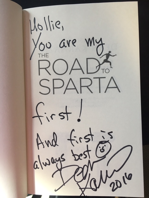 Road to Sparta Dean Karnazes.