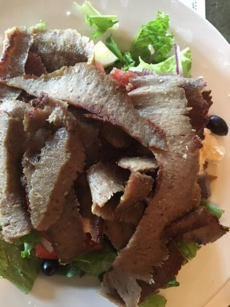 Readington Diner gyro salad