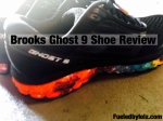Brooks Ghost 9 Shoe Review