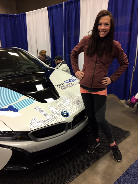 BMW i8 half marathon dallas