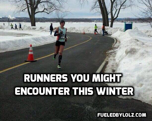 Runners You Might Encounter this Winter