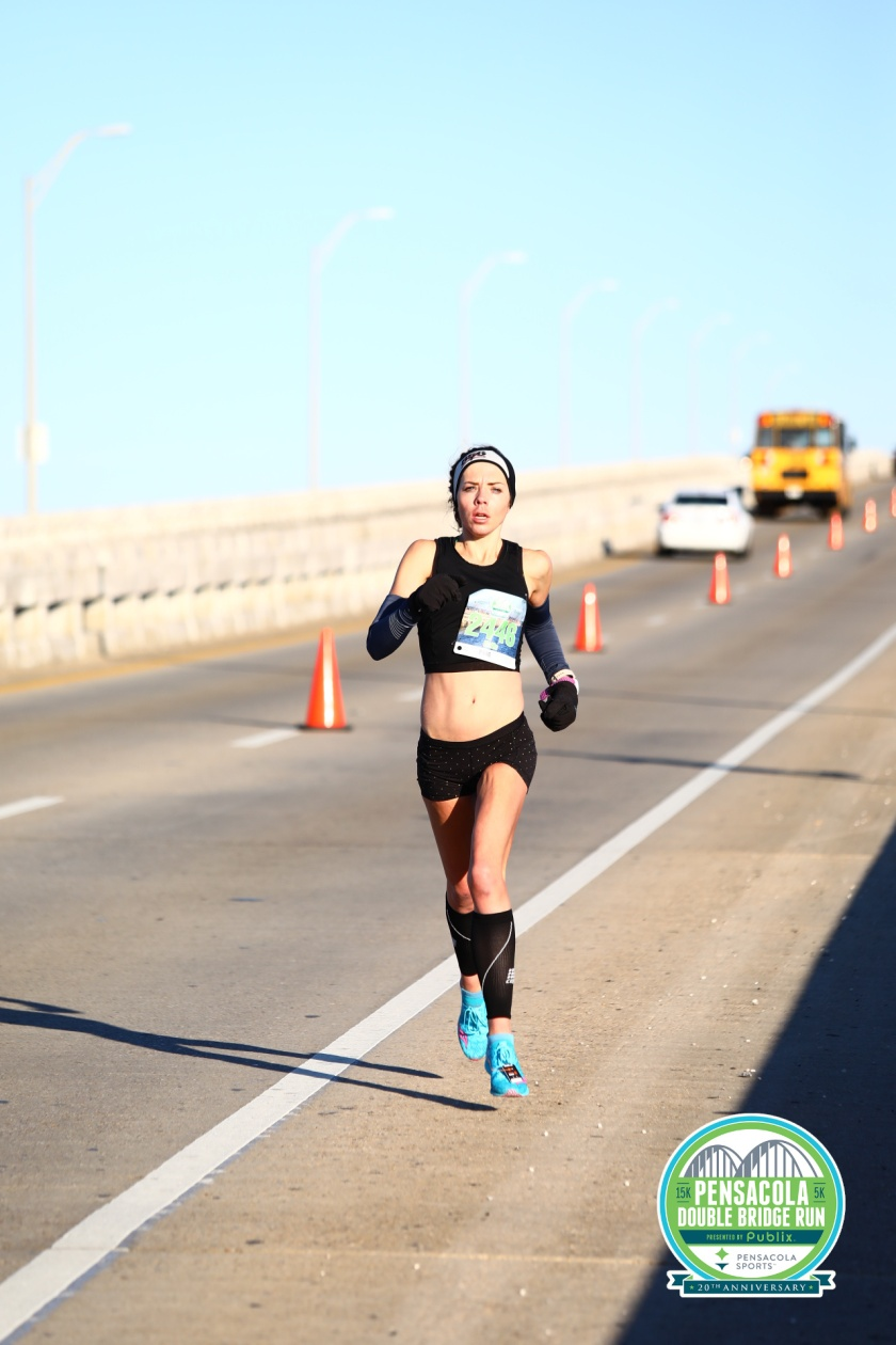 Double Bridge 15k me running