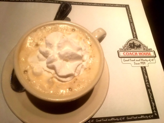 The Coach House Diner and Restaurant North Bergen coffee