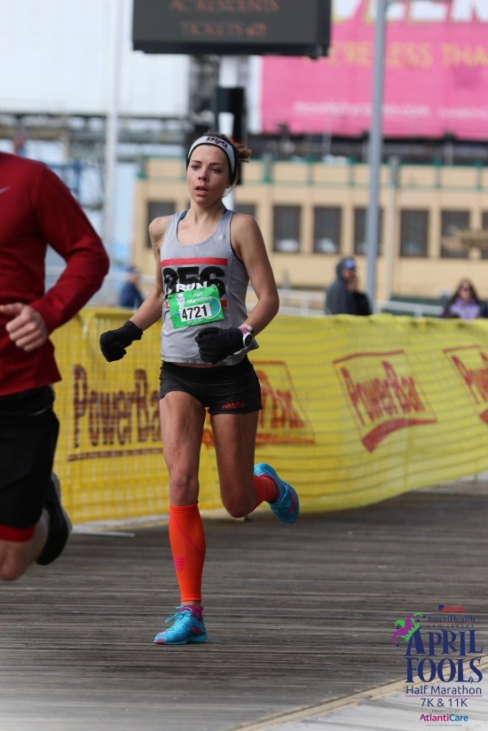 april fools half marathon atlantic city me running