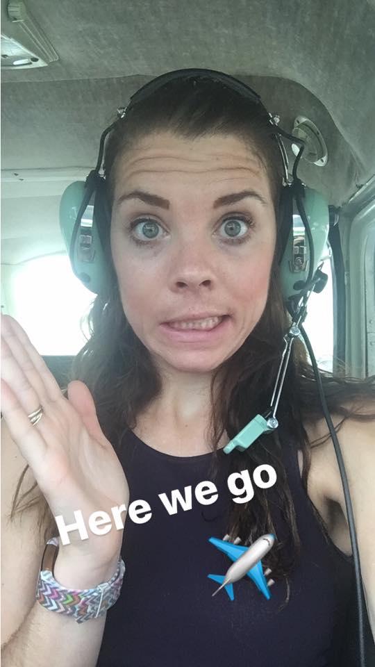me selfie private flying