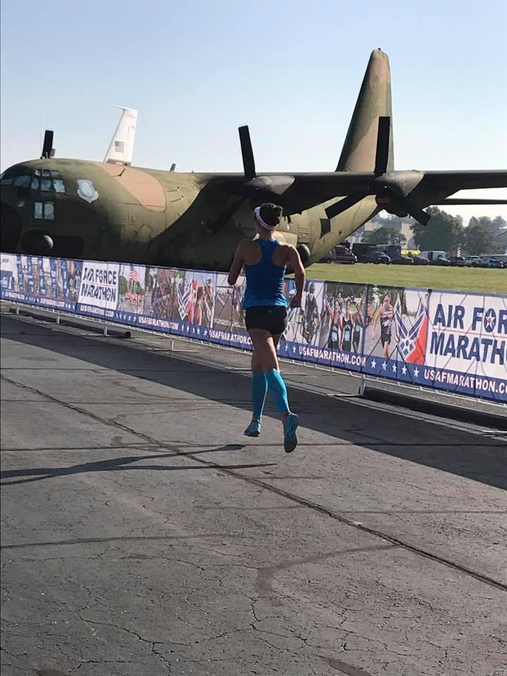Air Force Half Marathon(1:27.28)