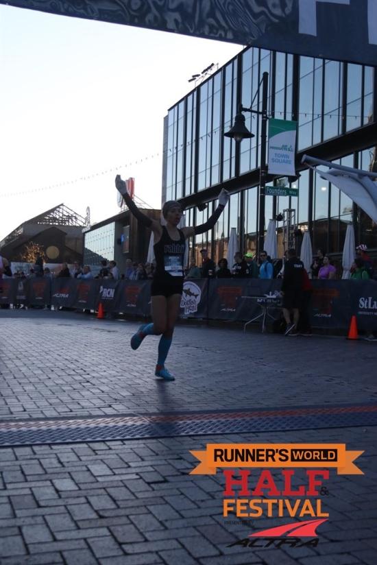 Runners World 5k me running