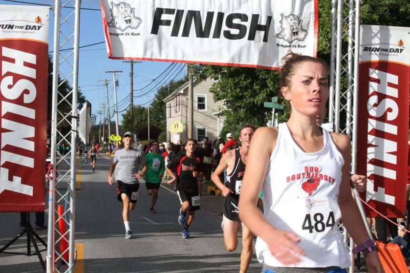 dragon run kingsway swedesboro nj finish me running