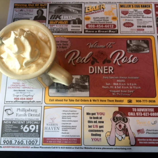 Red Rose diner Phillipsburg