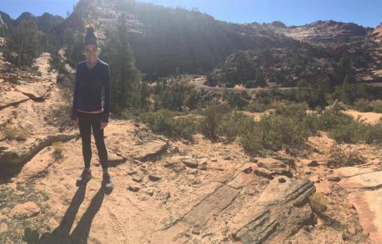 Hiking in Zion National Park