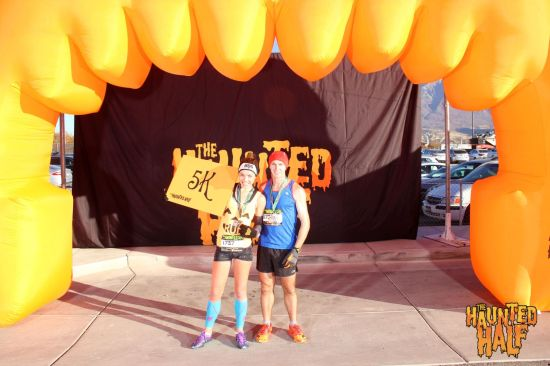 haunted half 5k provo ut me running