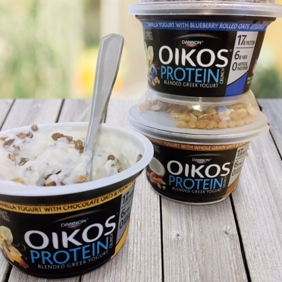 Oikos Protein Crunch Yogurt