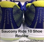 Saucony Ride 10 Shoe Review
