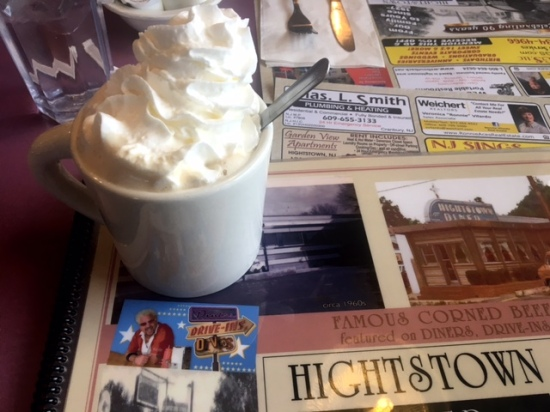 Hightstown diner Food network coffee