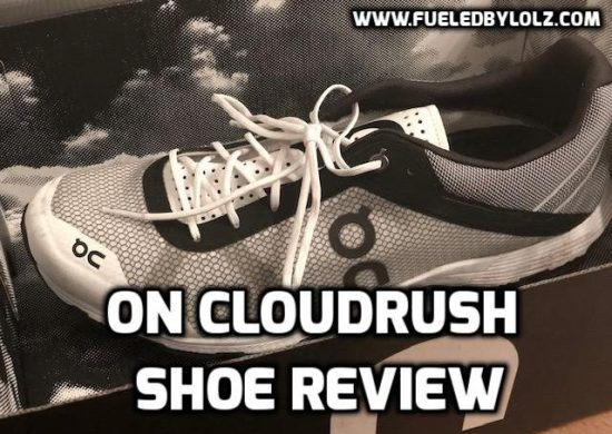 On cloudrush shoe review