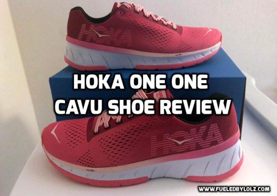 Hoka one one cavu shoe review