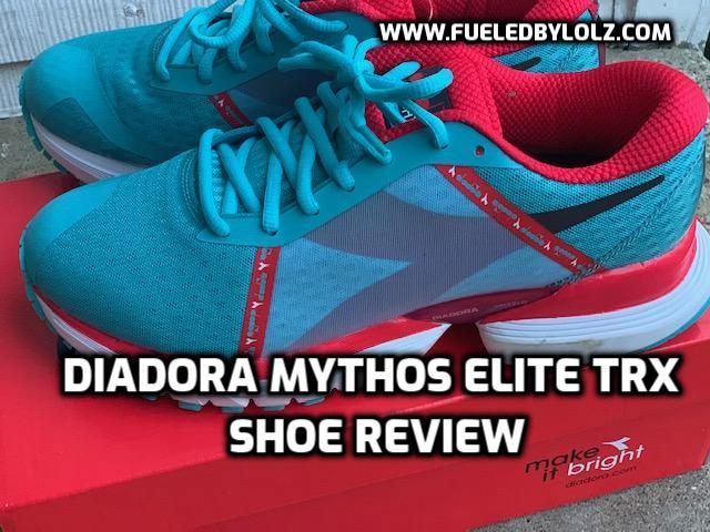 Diadora Mythos Elite TRX Shoe Review